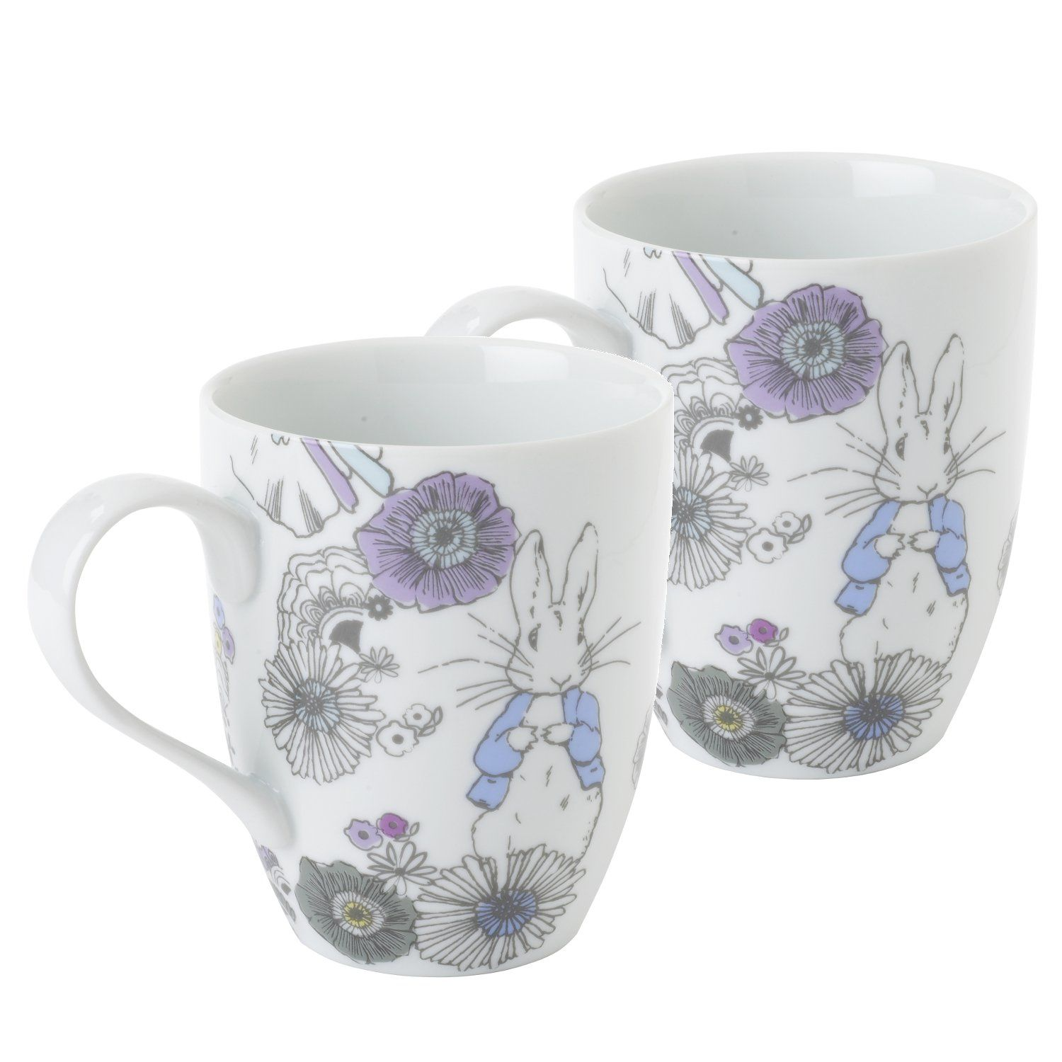 Peter Rabbit Peter Rabbit Contemporary Mug (Set of 2)