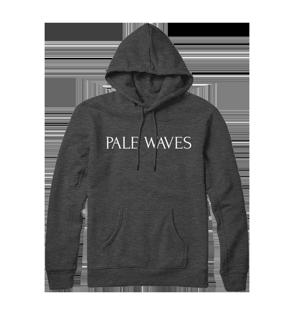 Pale Waves: Black Logo Hoodie