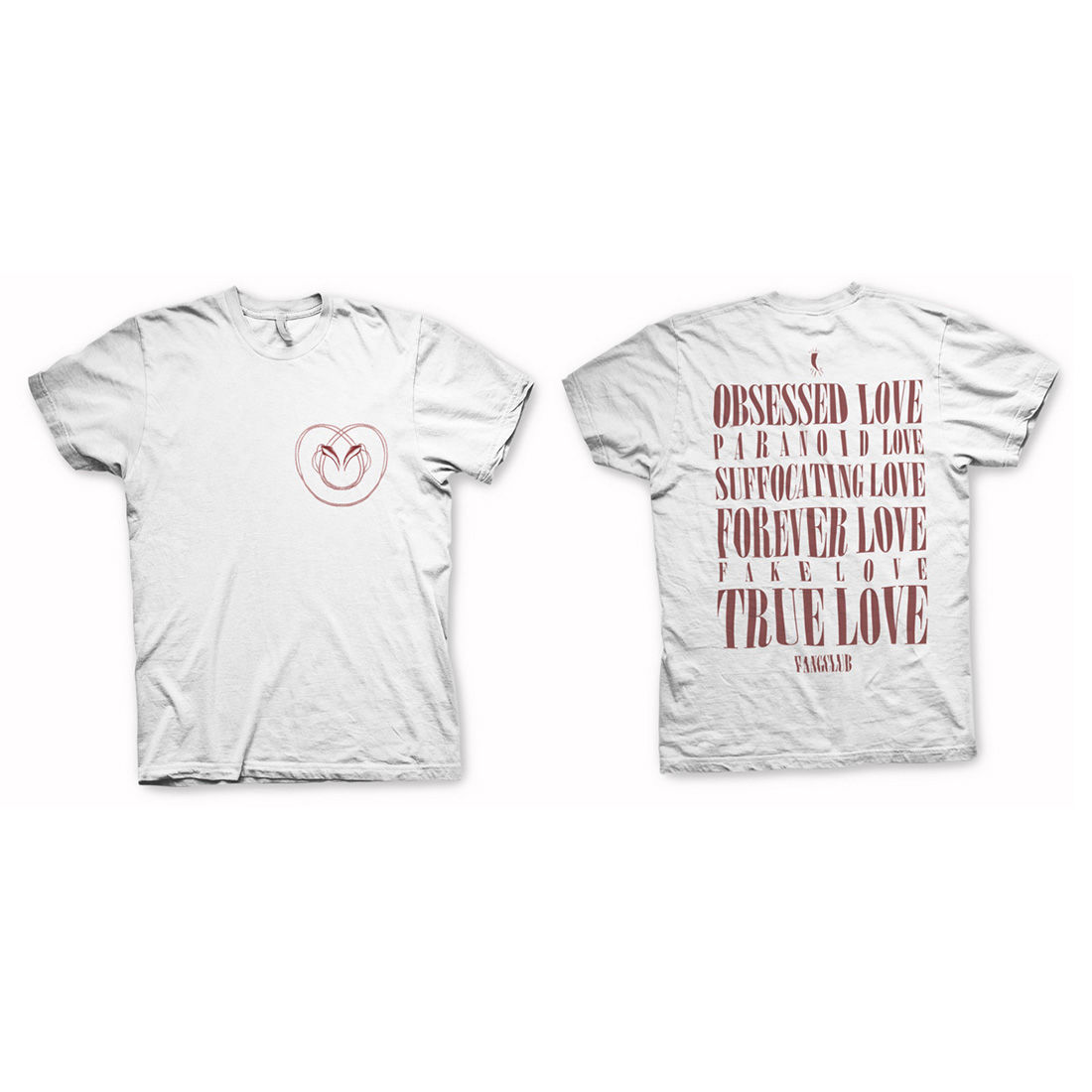 Fangclub: TRUE LOVE T-SHIRT - S