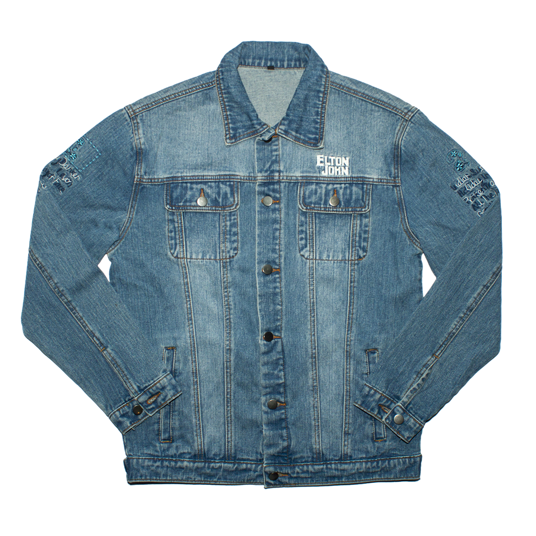 Elton John: MATW Denim Jacket - S