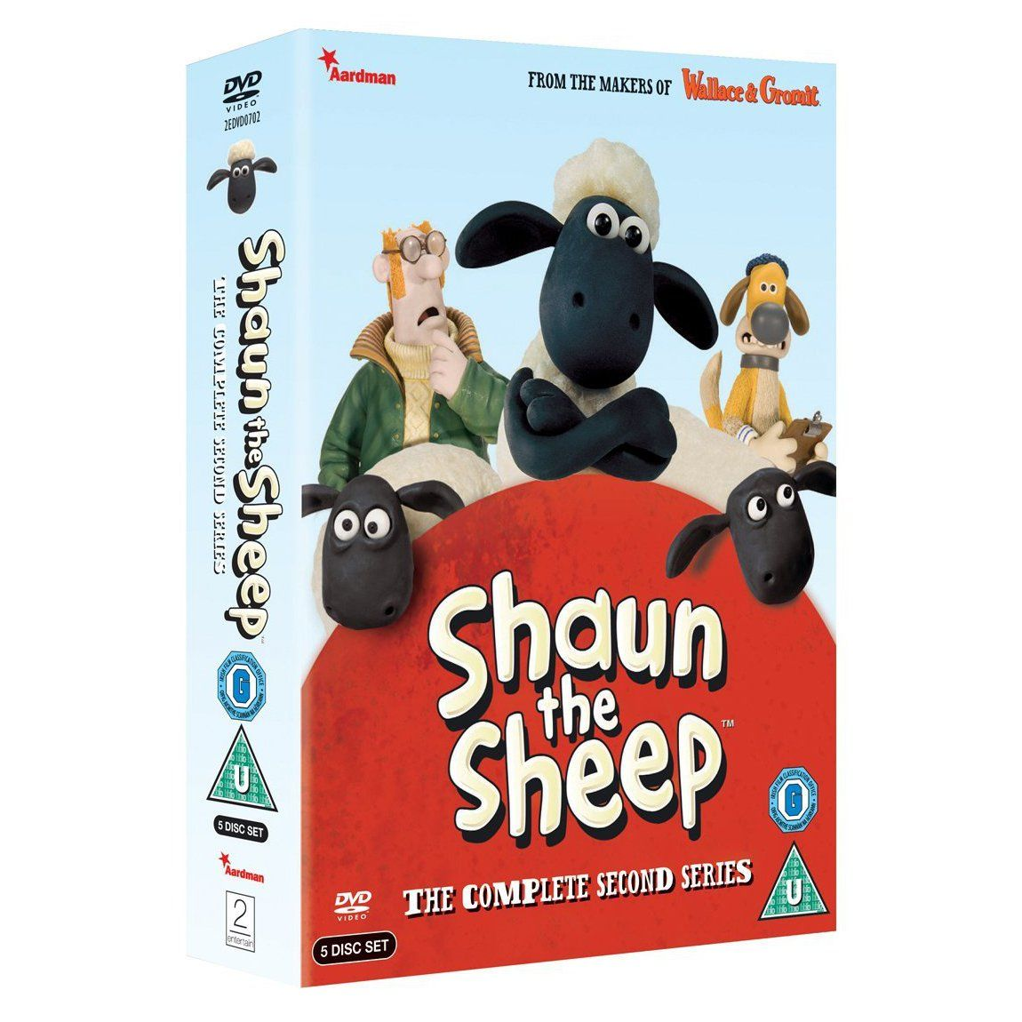 Aard Store Shaun the Sheep Shaun The Sheep The Complete Second Series DVD