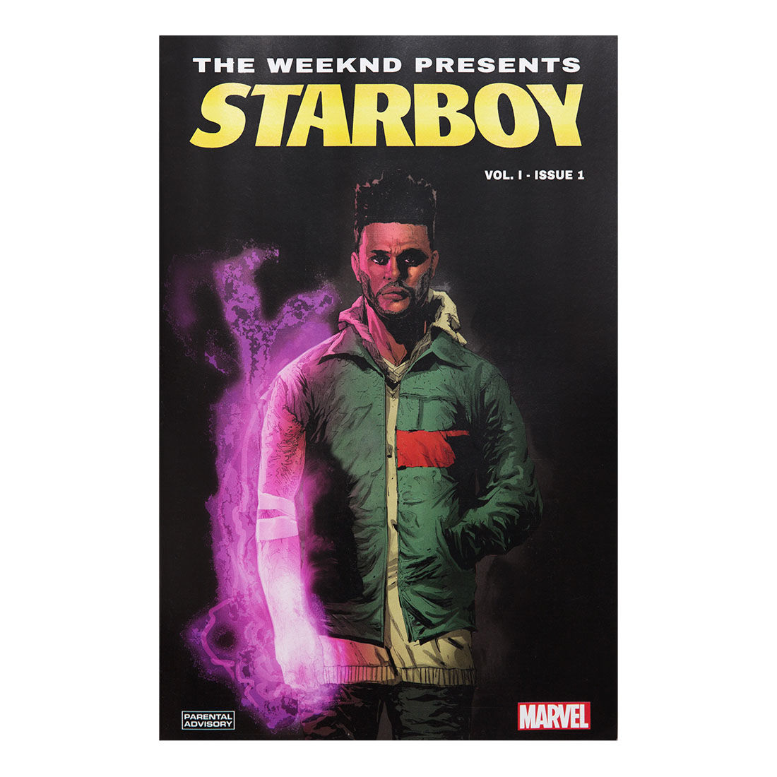 The Weeknd: THE WEEKND PRESENTS: STARBOY – VOL. I – ISSUE 1 COMIC BOOK