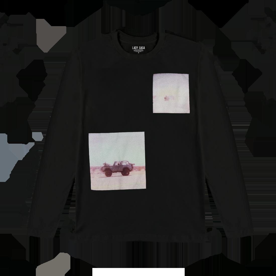 7249dfc3535 Lady Gaga: Polaroid Black Long Sleeve
