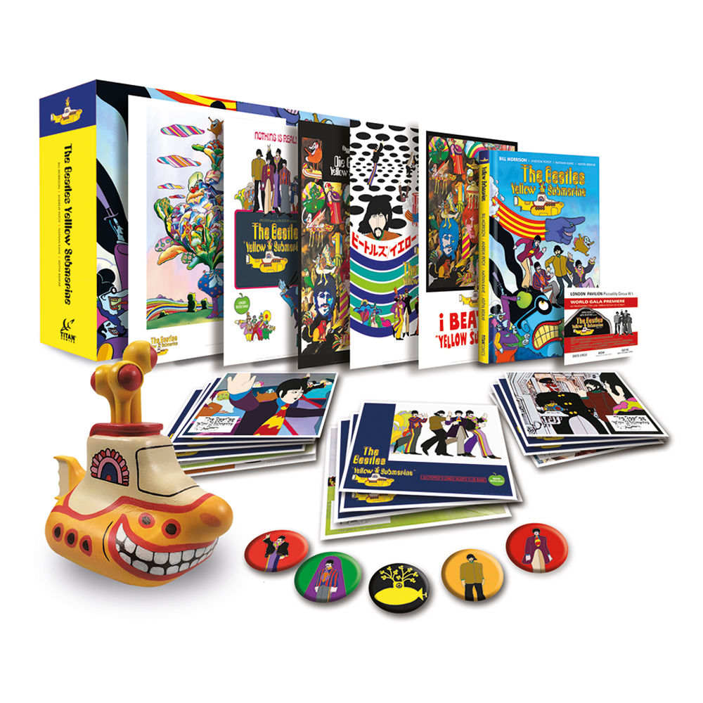 The Beatles Polska: Limitowany box Yellow Submarine - hit czy kit?