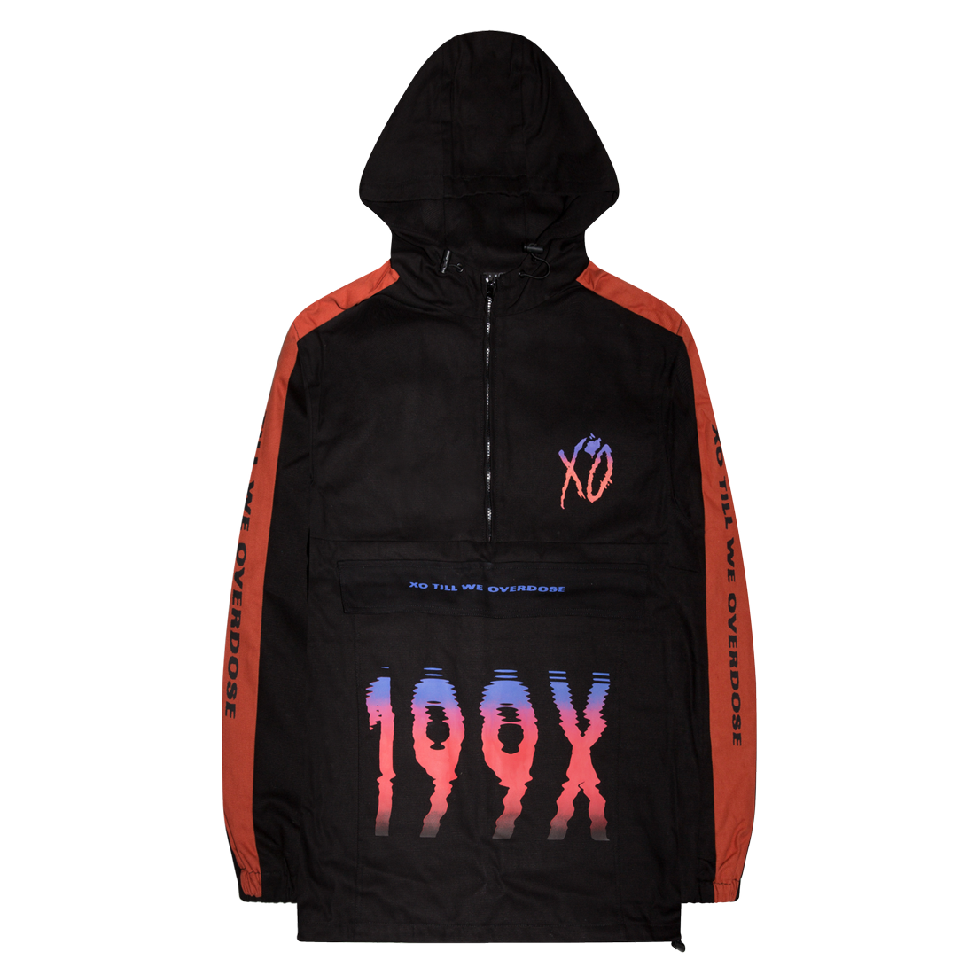 The Weeknd: POST NO BILLS COTTON CANVAS ANORAK - S