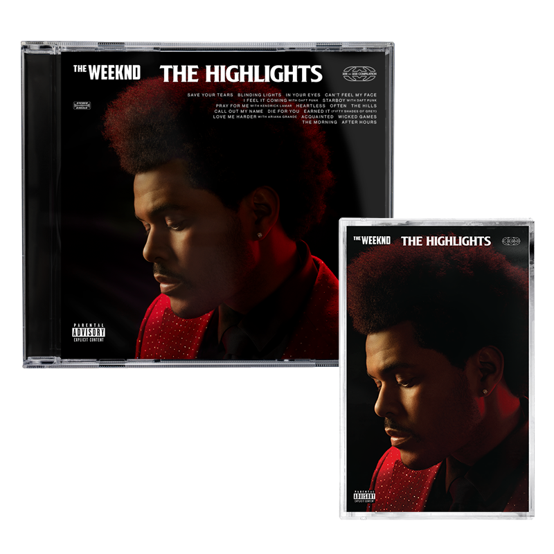 The Weeknd: The Highlights: CD + Cassette