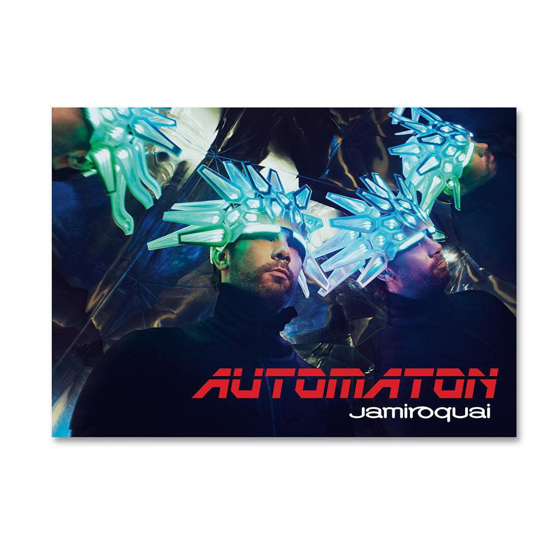 Jamiroquai: Automaton Poster