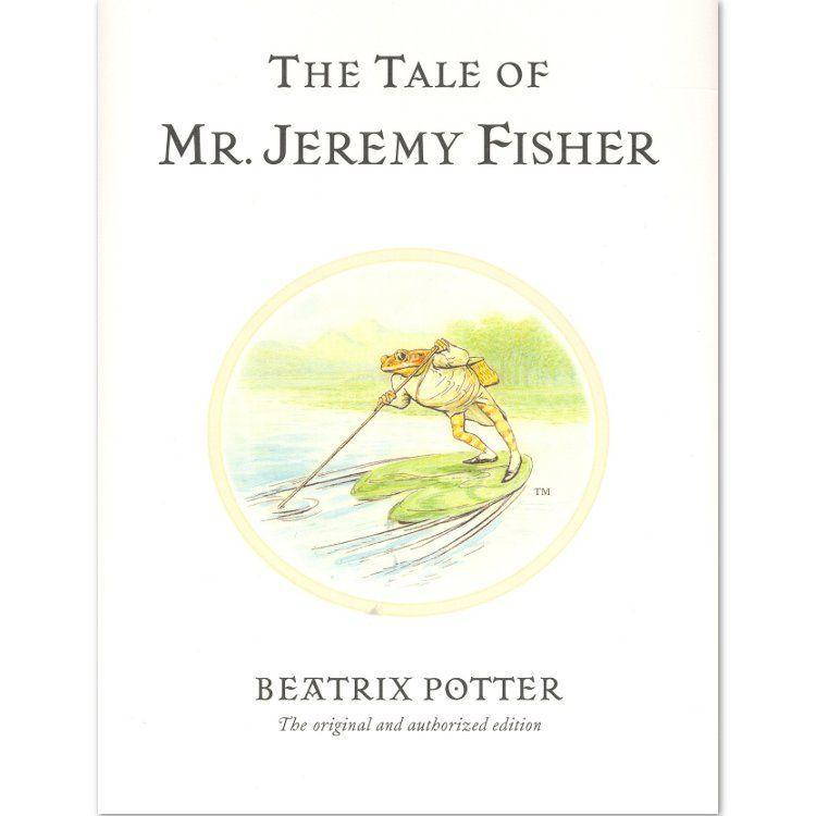 Mr. Jeremy Fisher The Tale of Mr Jeremy Fisher (Hardback) - Peter Rabbit Gifts