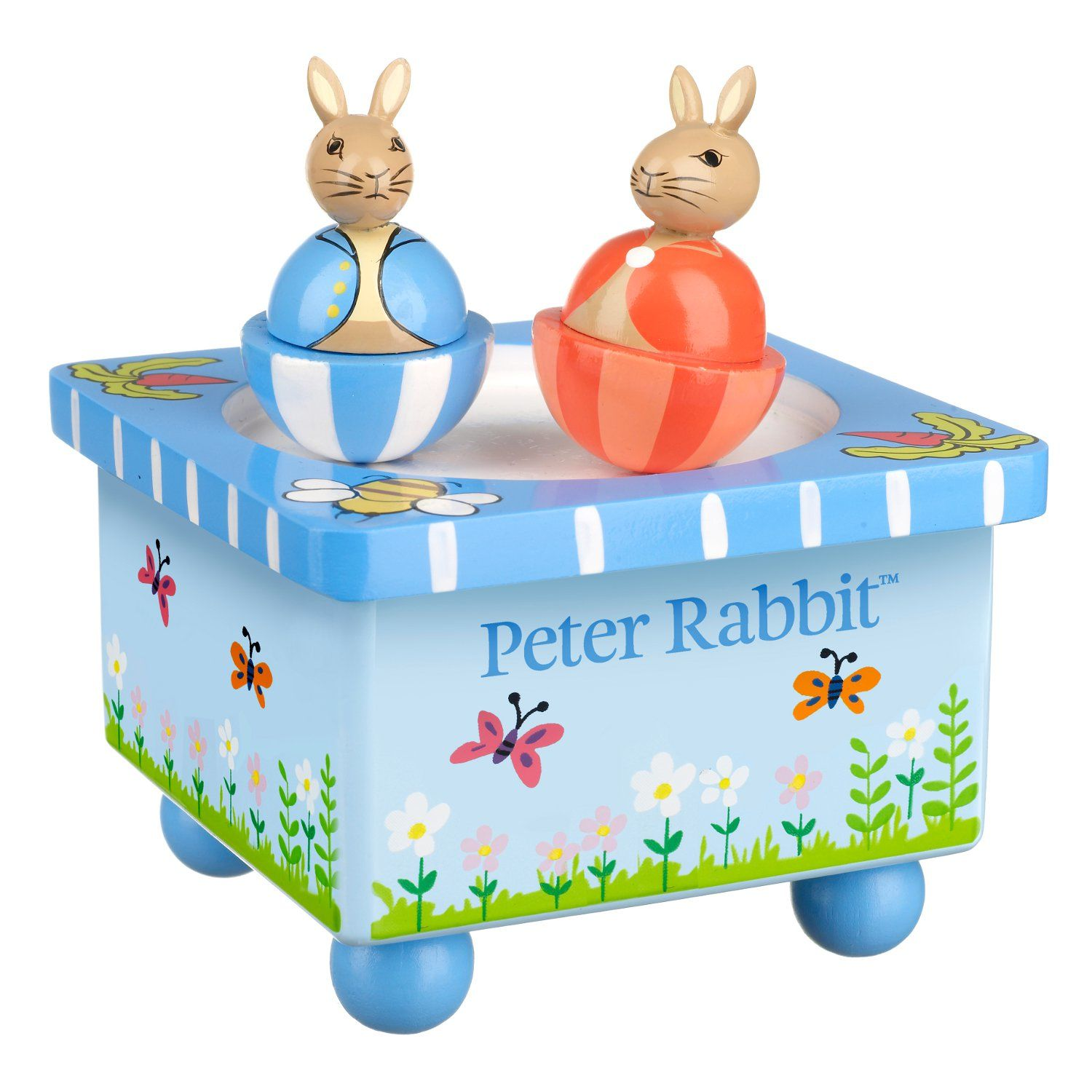 Peter Rabbit Peter Rabbit Wooden Music Box