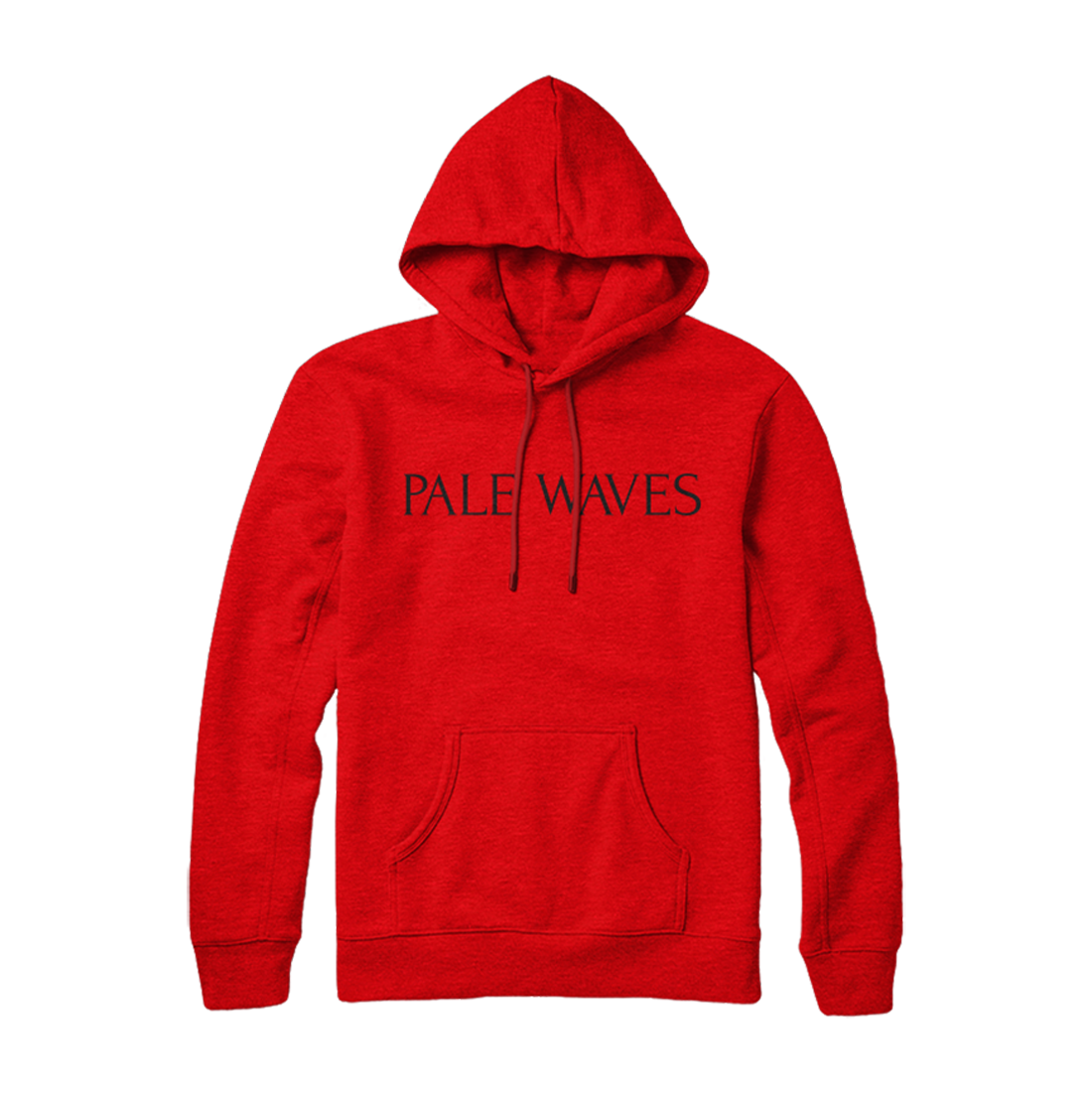 Pale Waves: Pale Waves - Red Logo Hoodie
