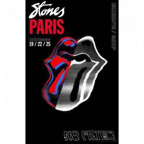 Art The Rolling Stones Paris Print