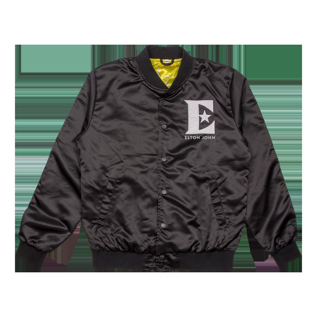 fa4c76b46 Elton John: Farewell Satin Bomber Jacket - S