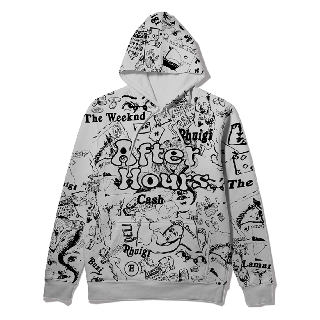 The Weeknd: RHUIGI AFTER HOURS DISGUISE PULLOVER HOOD