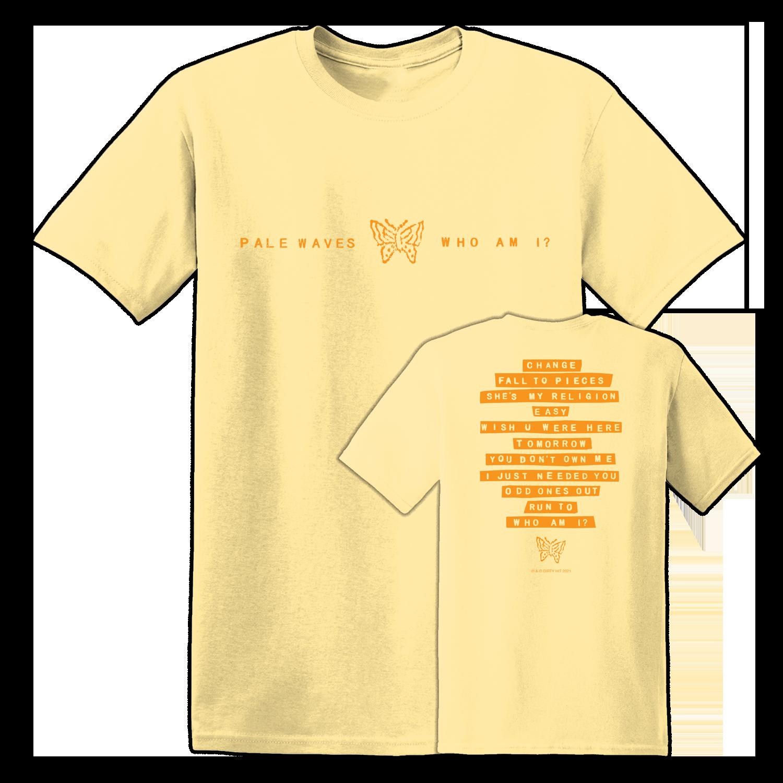 Pale Waves: Orange Tee