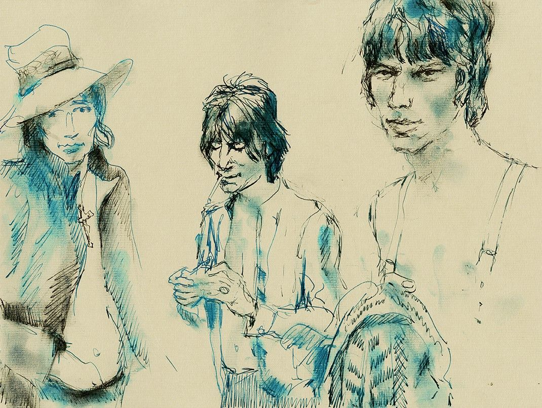 Ronnie Wood: Rod, Ronnie, Jeff