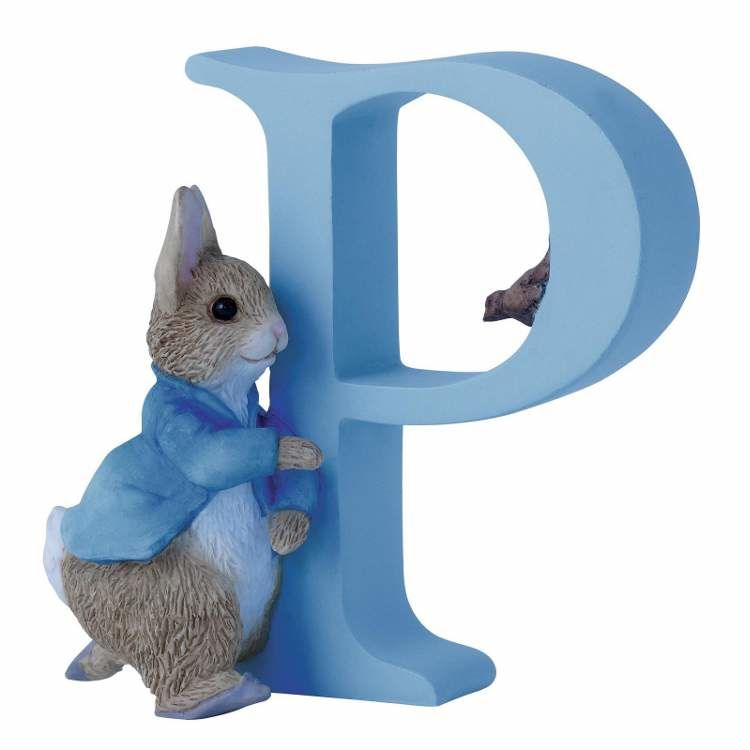 Peter Rabbit Alphabet Letter P - Running Peter Rabbit
