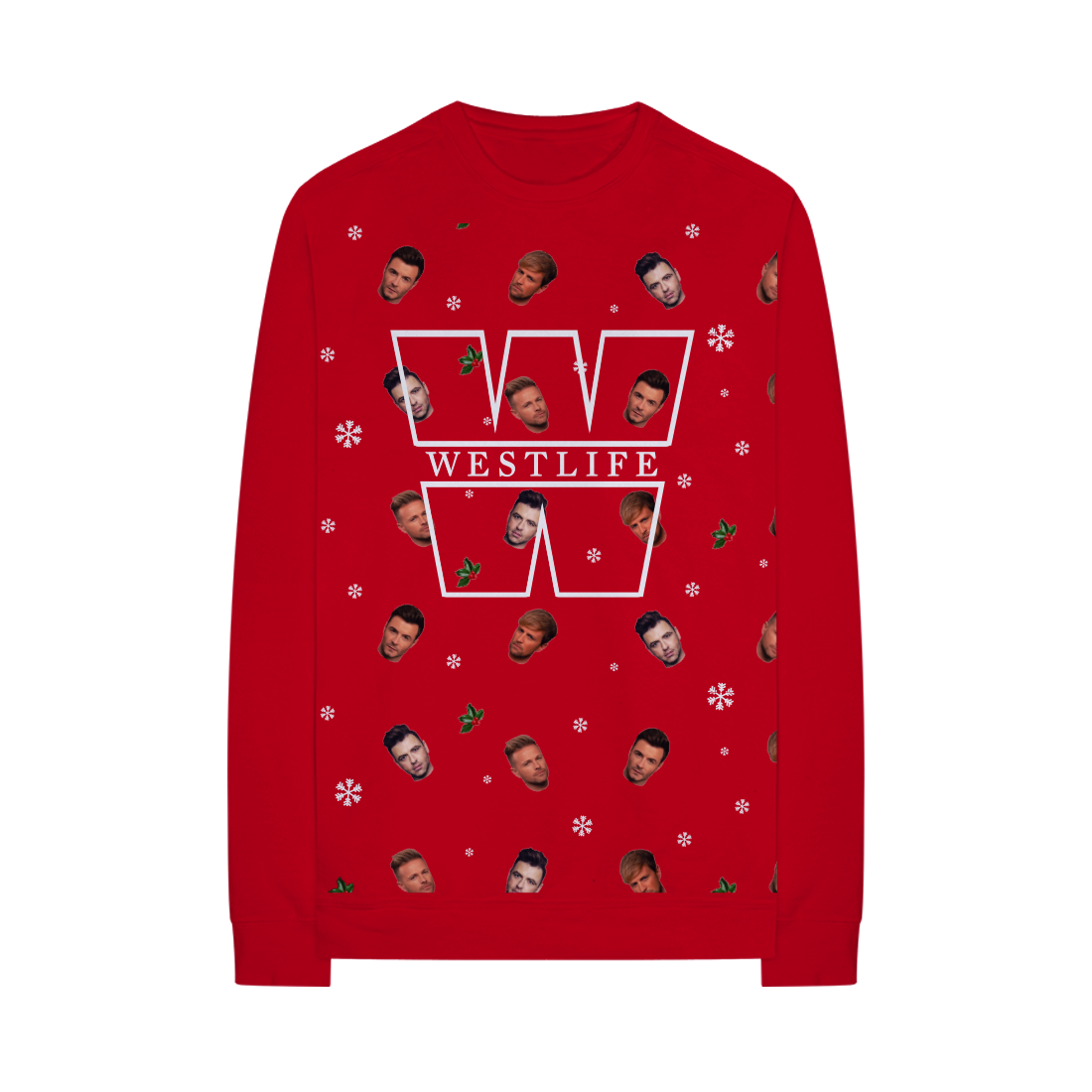 Westlife: LIMITED EDITION WESTLIFE CHRISTMAS JUMPER
