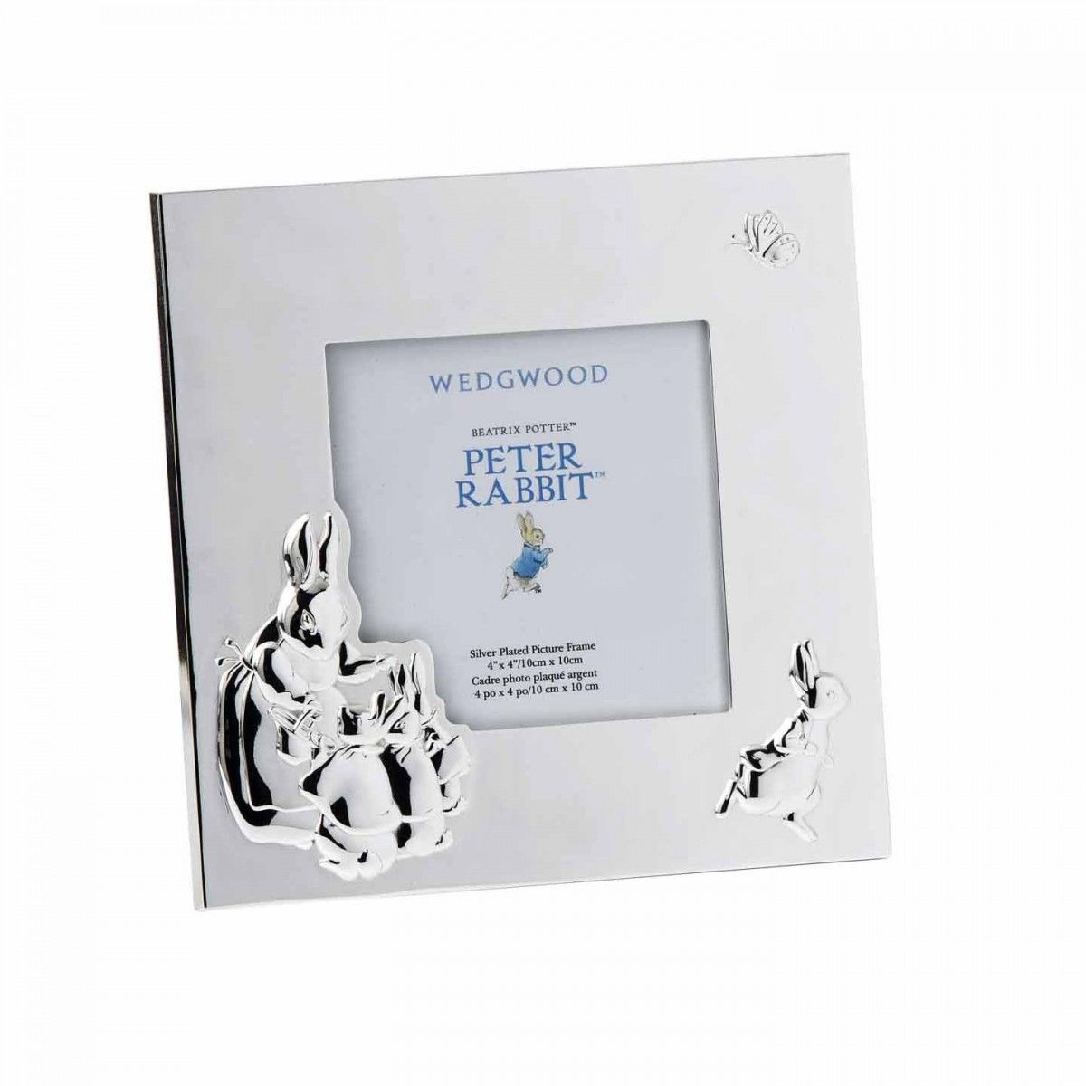 Peter Rabbit Peter Rabbit Silver-Plated 9cm Photo Frame
