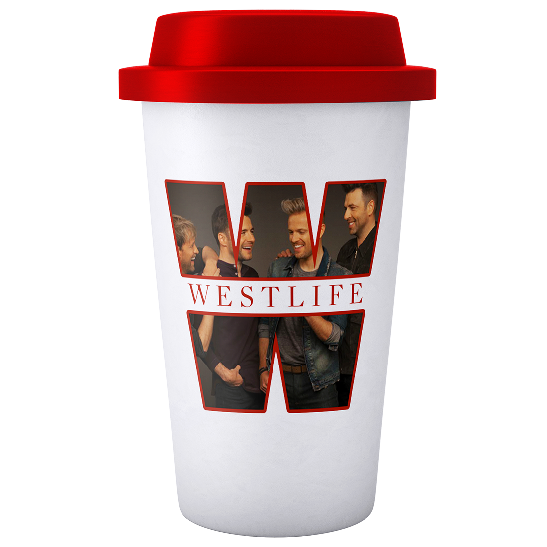 Westlife: WESTLIFE REUSABLE THERMAL MUG