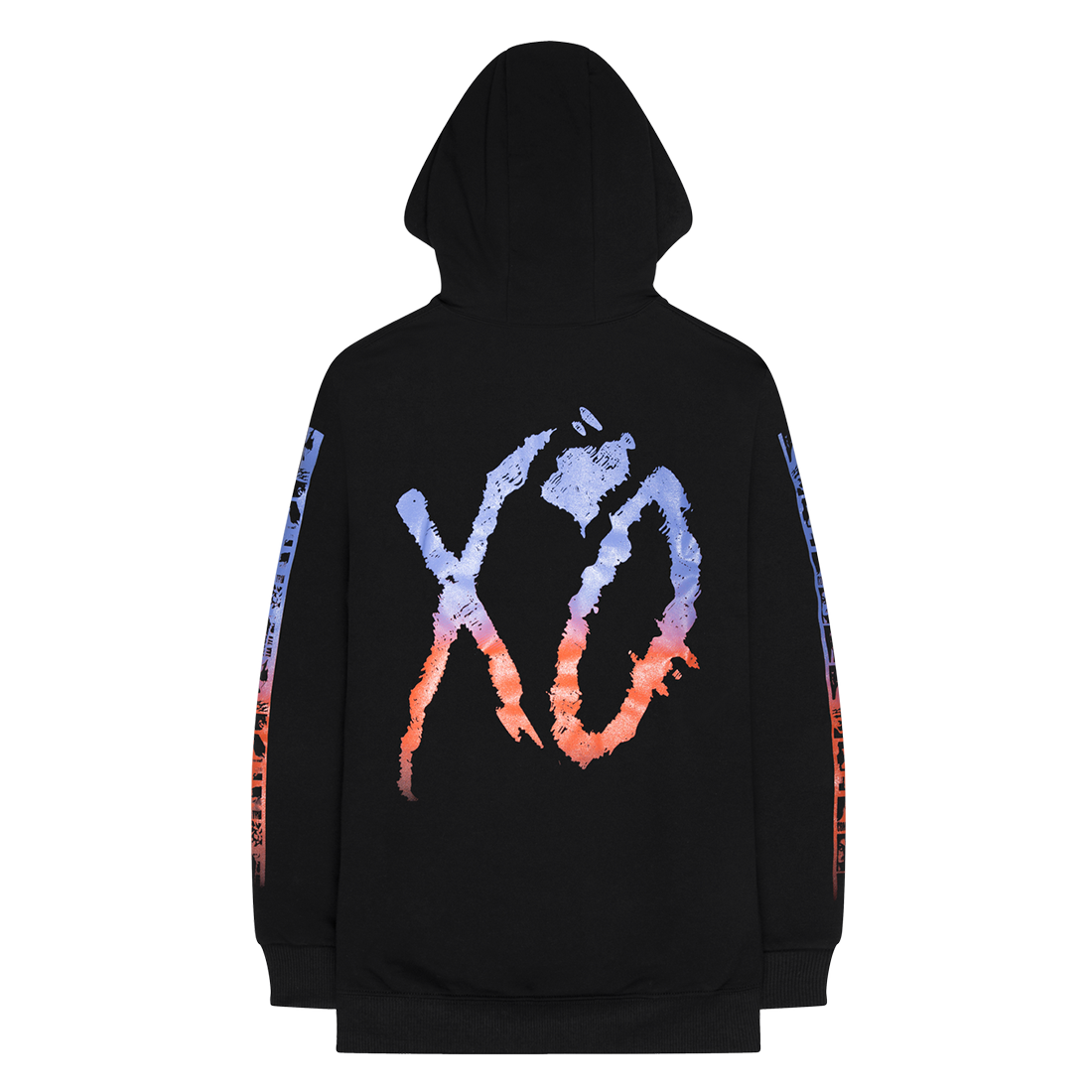 The Weeknd: POST NO BILLS FLEECE PULLOVER HOOD - S