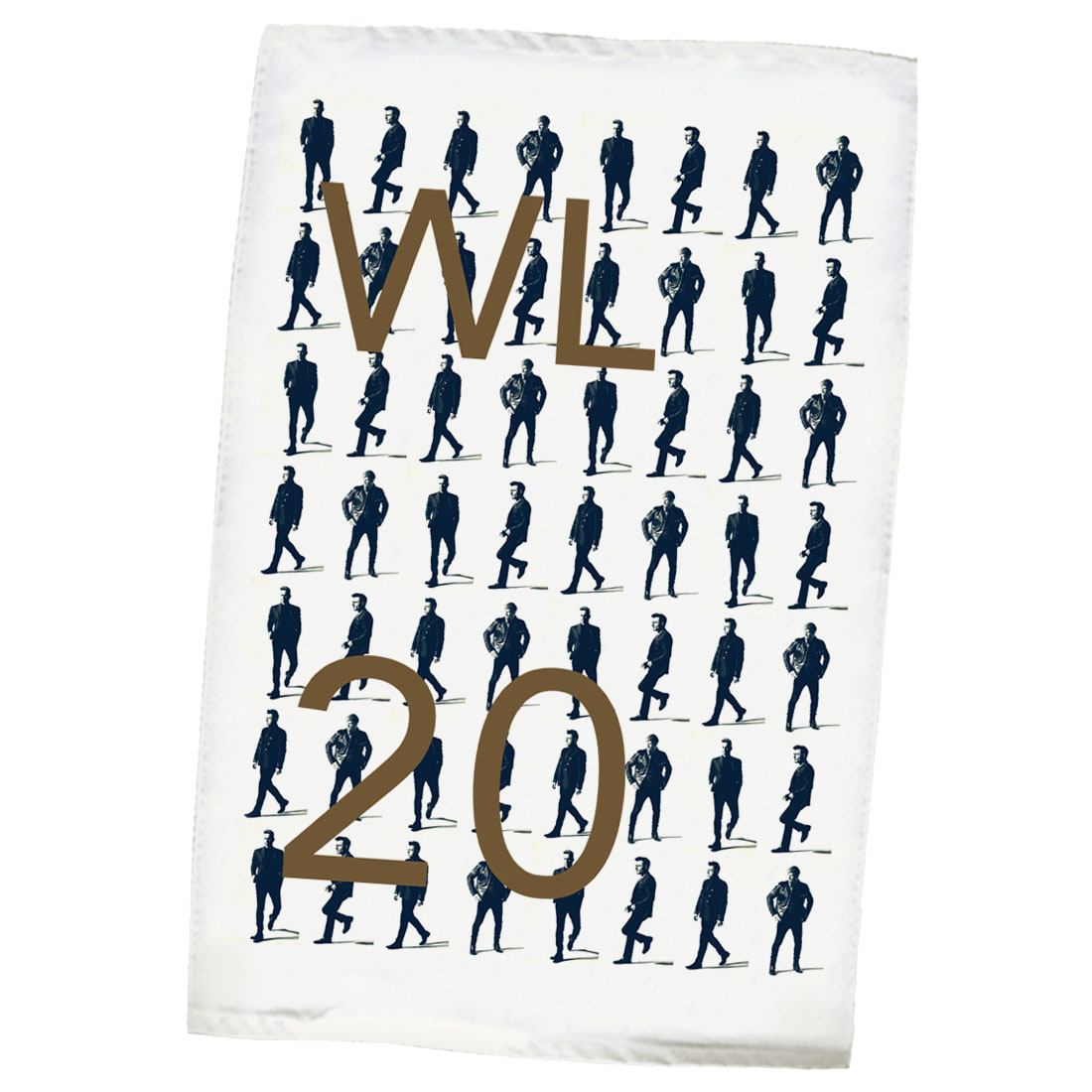 Westlife: Film Strip Tea Towel