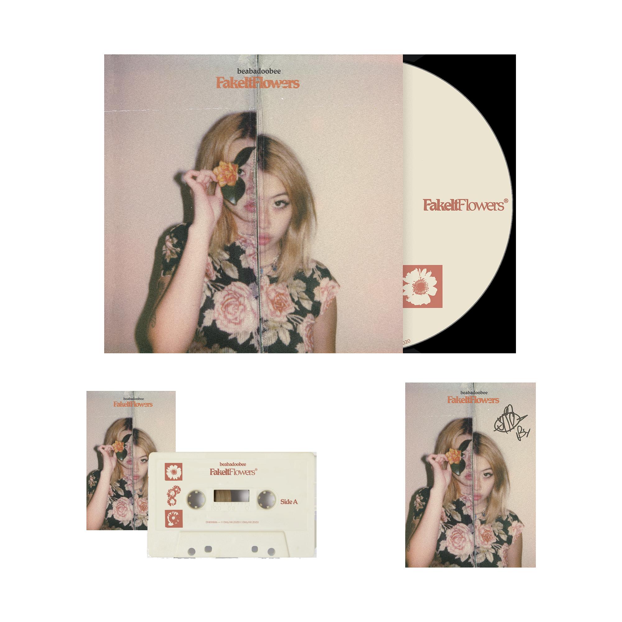 Beabadoobee: Fake It Flowers Magnolia CD Bundle (Signed)