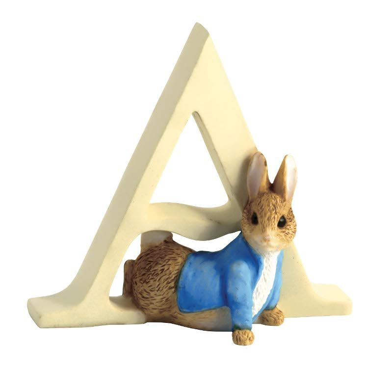 Peter Rabbit Alphabet Letter A - Peter Rabbit