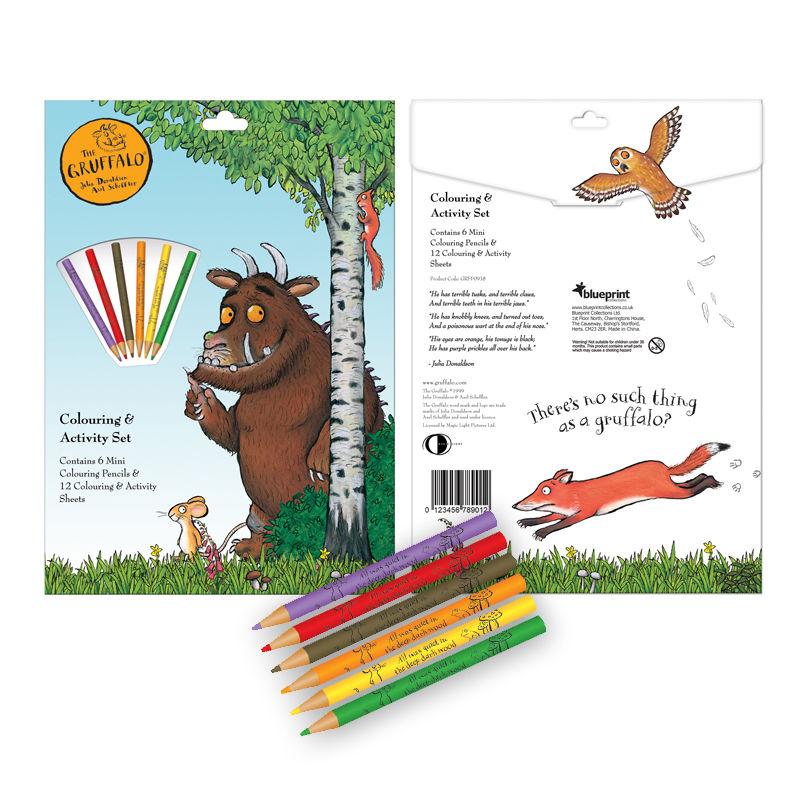 The Gruffalo Gruffalo Colouring And Activity Set