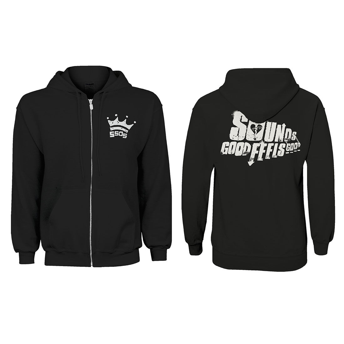 5589cb292 5 Seconds of Summer: Crown Hoodie - Small