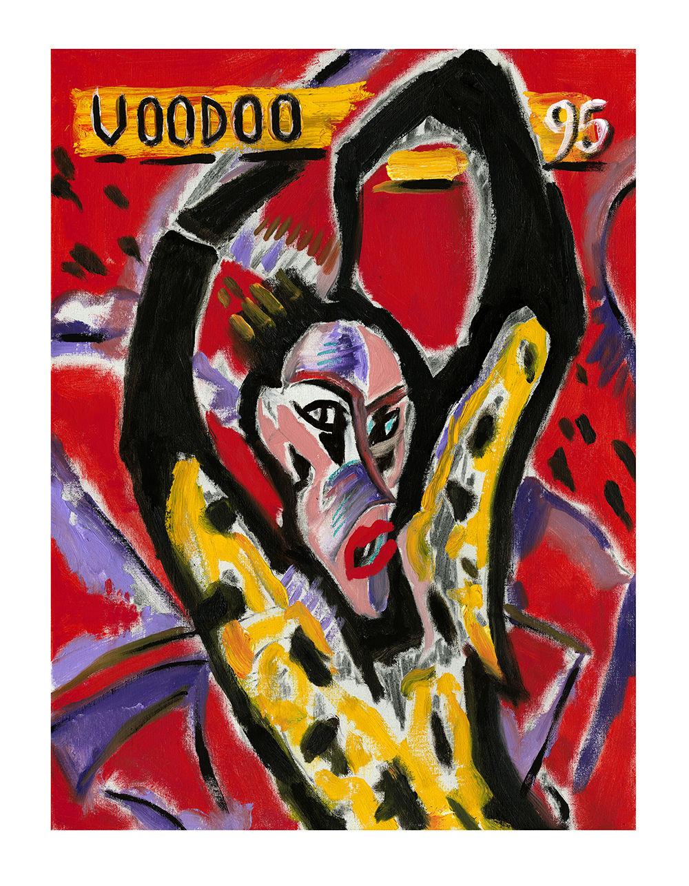 Ronnie Wood: VOODOO '95