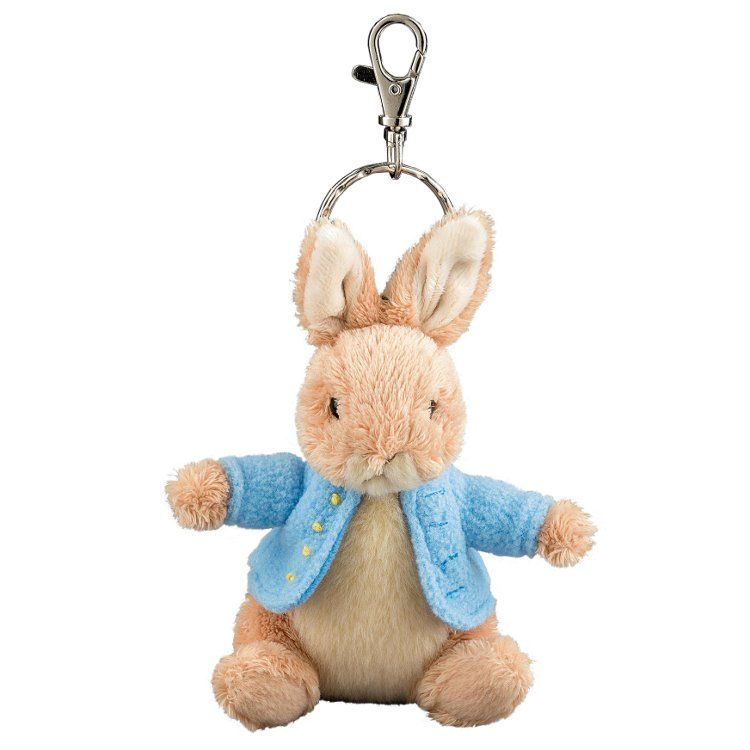 Peter Rabbit Peter Rabbit 12cm Soft Toy Keyring