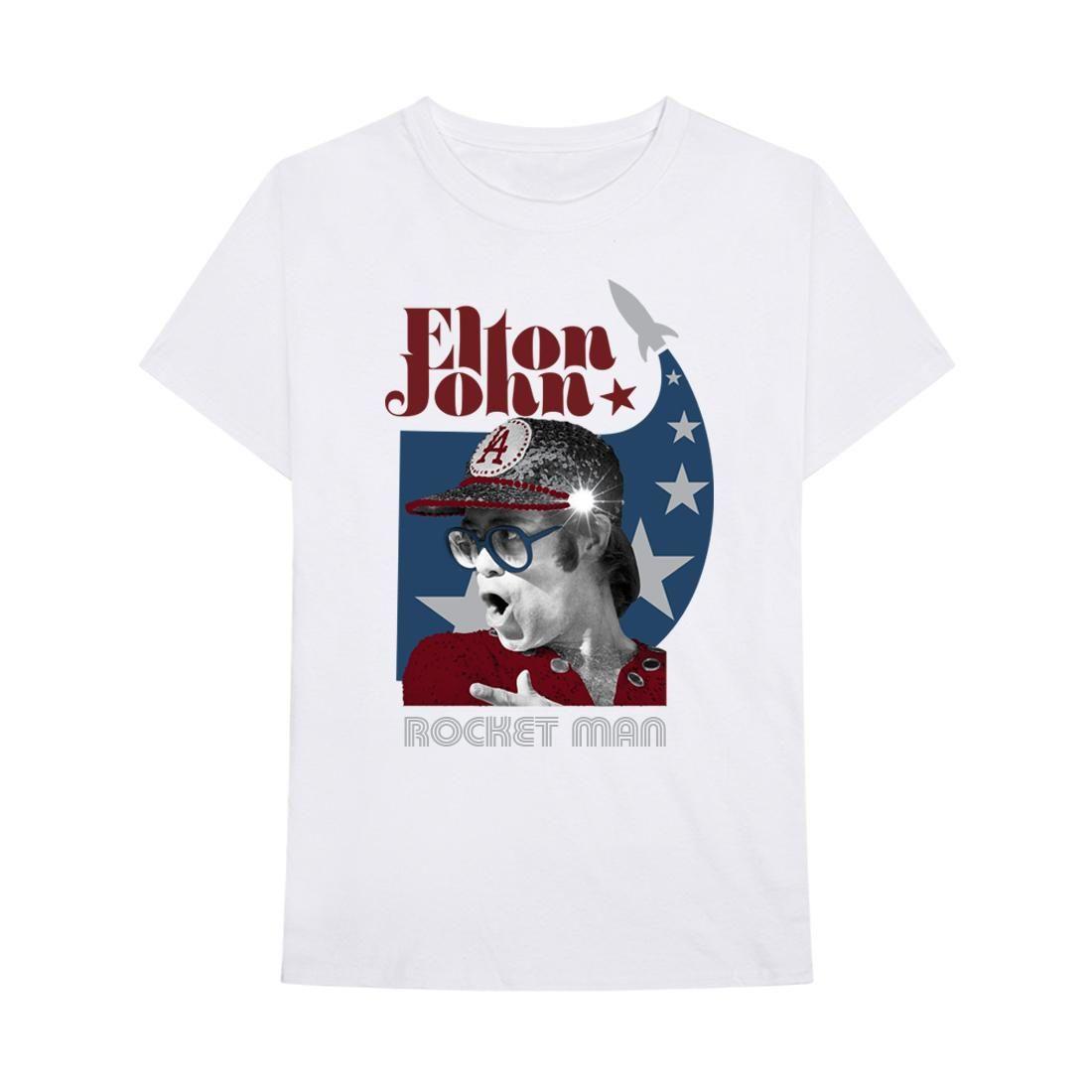 Elton John: Rocket Man USA Tee- S