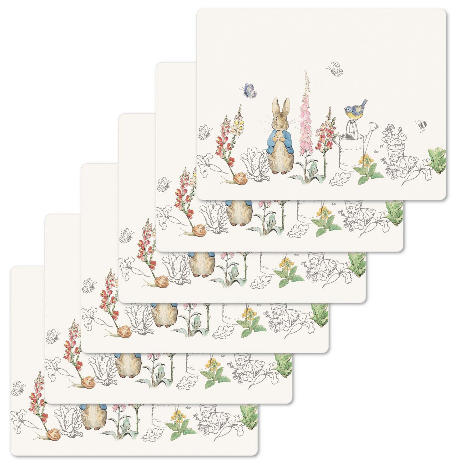 Peter Rabbit Peter Rabbit Classic Tablemats (Set of 6)