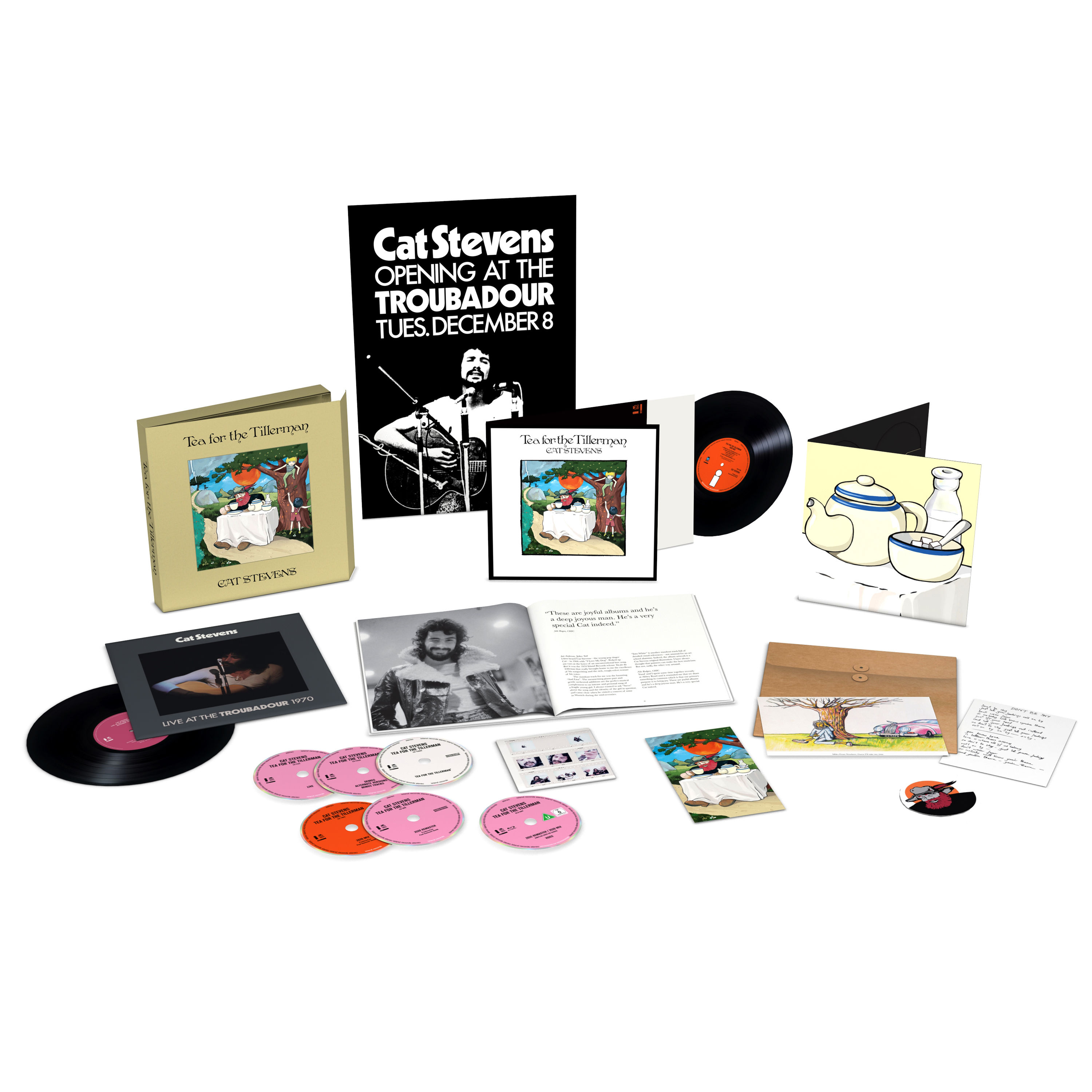 Yusuf: Tea For The Tillerman: Super Deluxe Edition Box Set
