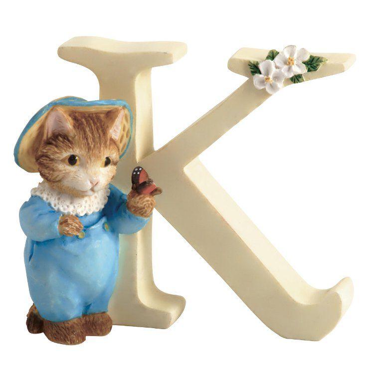 Tom Kitten Alphabet Letter K - Tom Kitten
