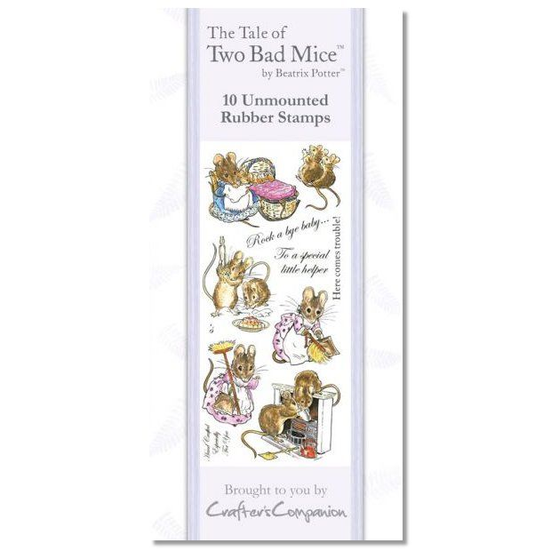 Two Bad Mice Beatrix Potter Stamp Set - Two Bad Mice - Beatrix Potter Gifts