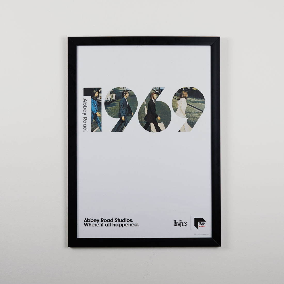 Abbey road studios the beatles abbey road 1969 poster