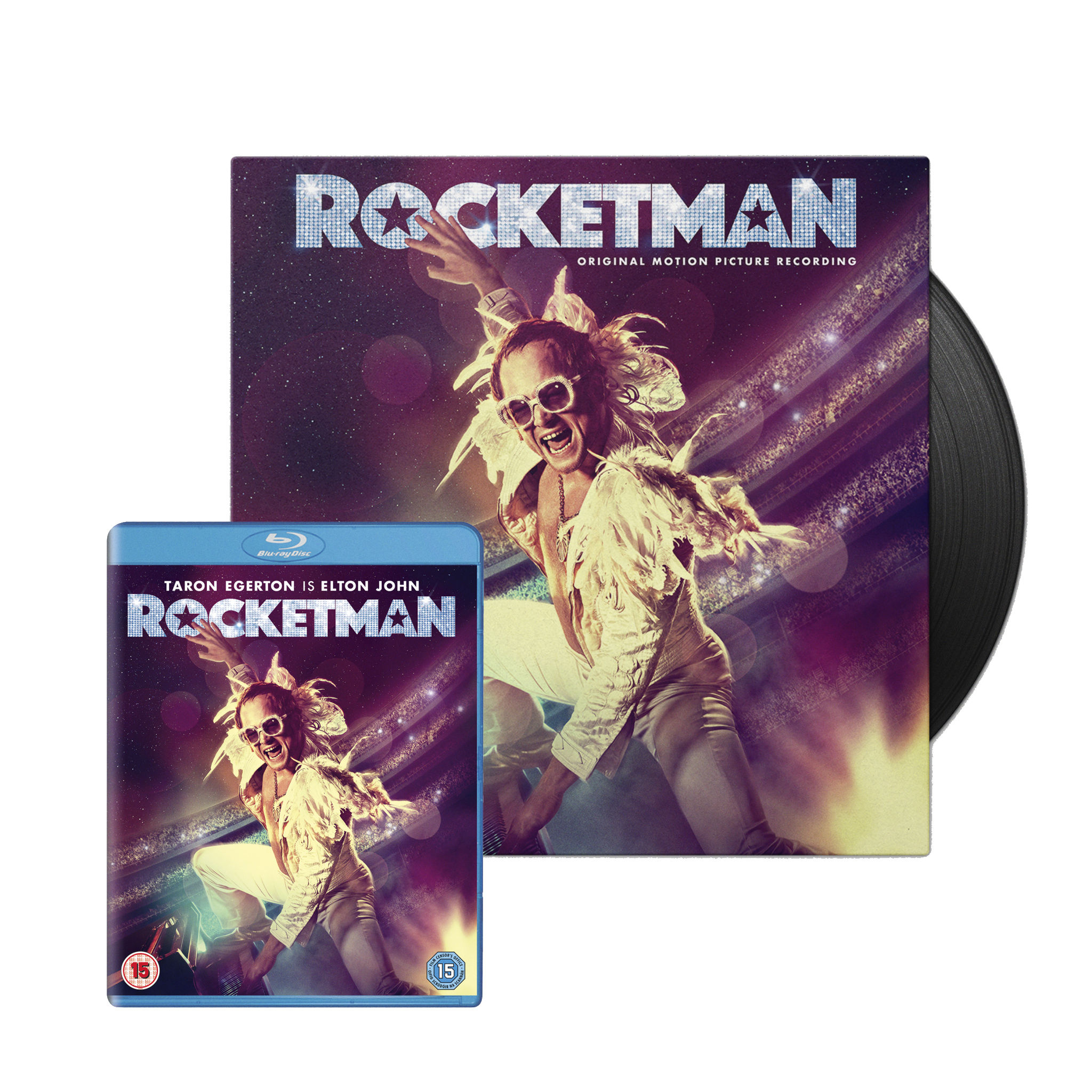 Elton John: Rocketman Blu-ray & LP