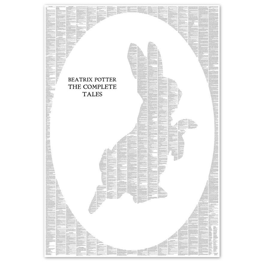 Peter Rabbit The Complete Peter Rabbit and Friends Silhouette Poster