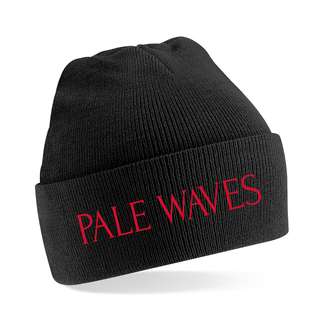 Pale Waves: Embroidered Logo Beanie