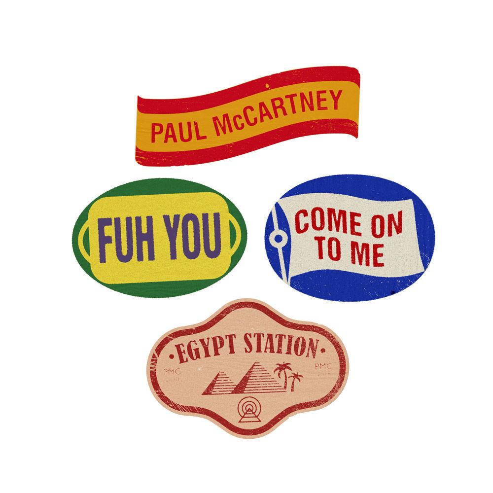 Paul McCartney: Egypt Station Pin Set