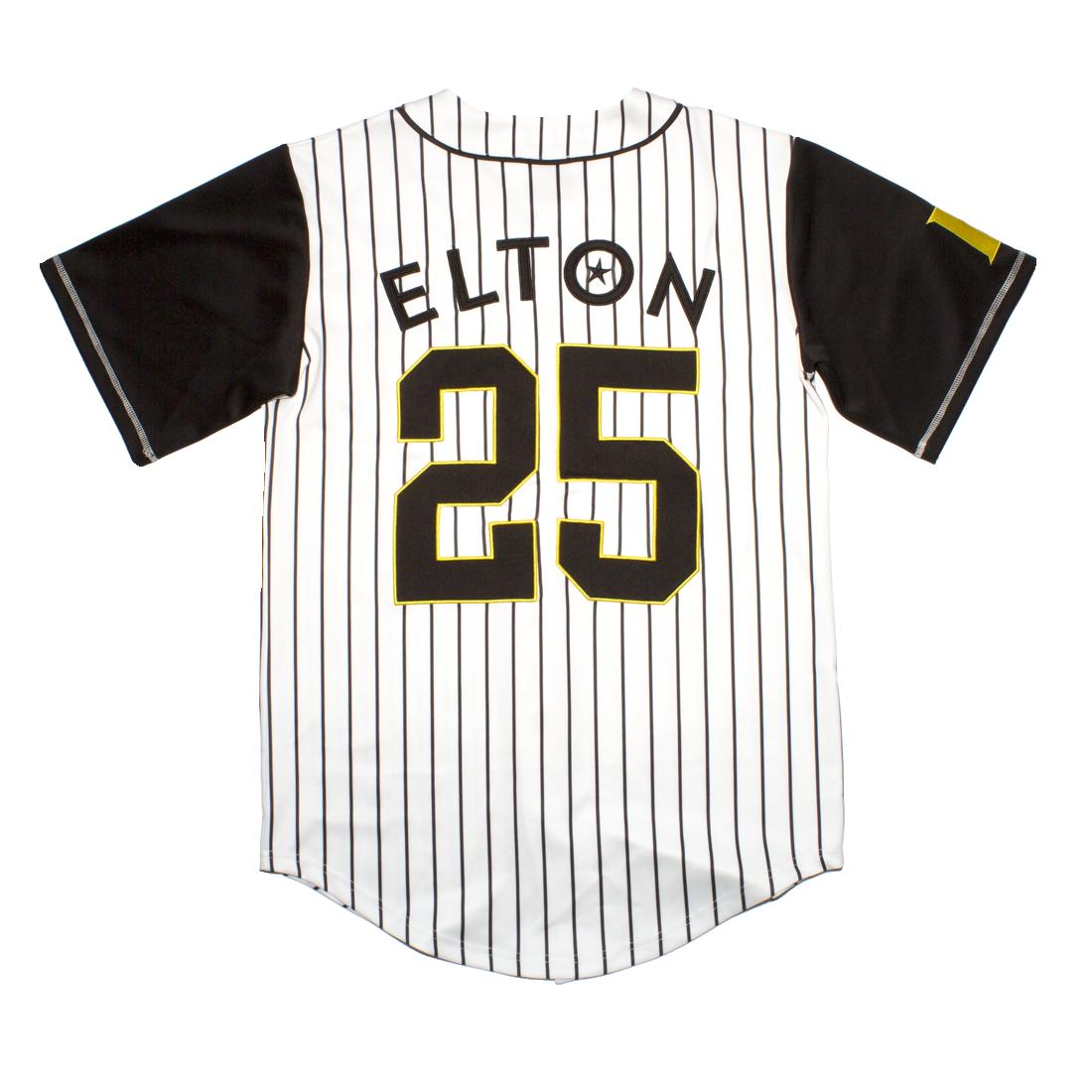 Elton John: E* Baseball Jersey - S