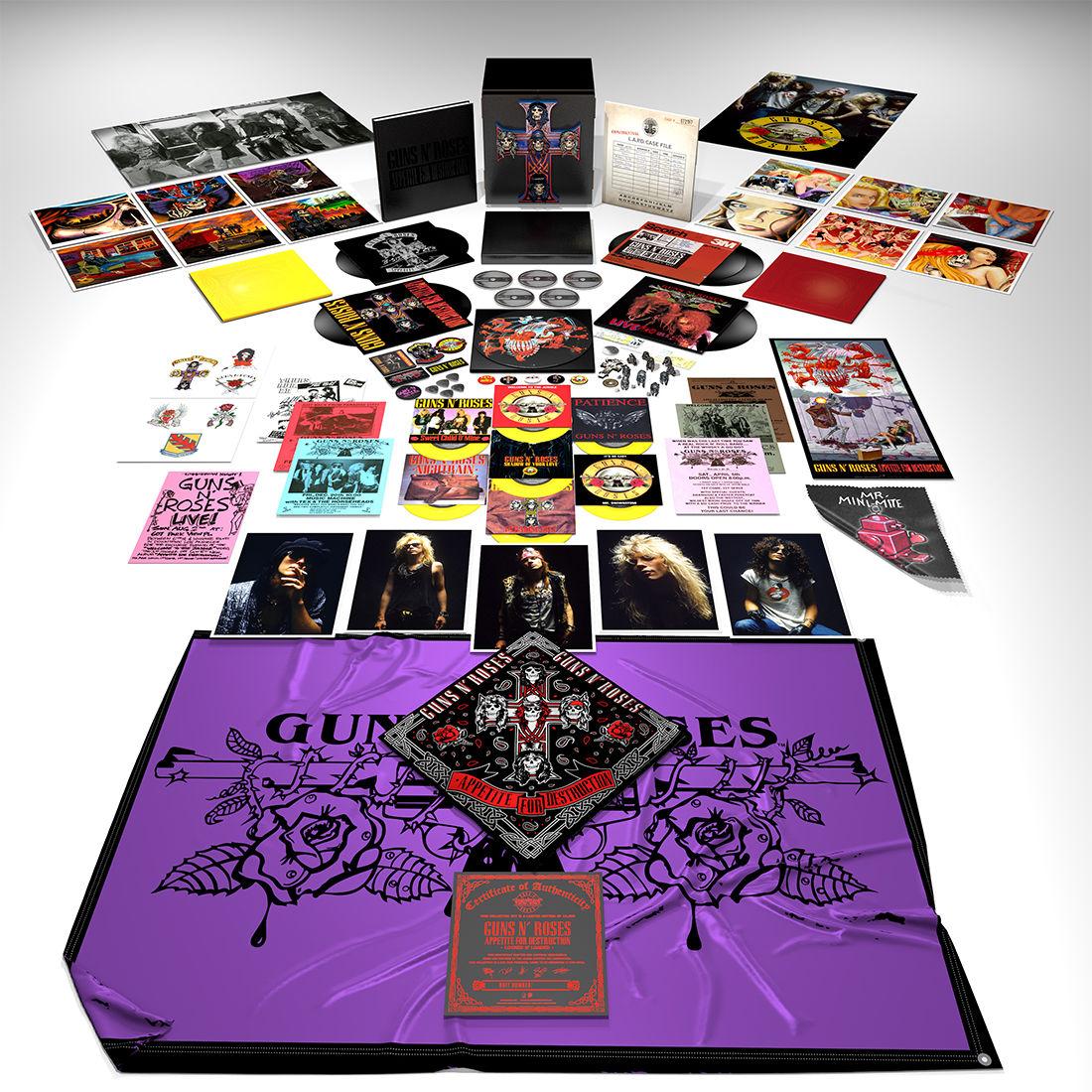 Guns N' Roses to release vinyl box set 'Appetite for
