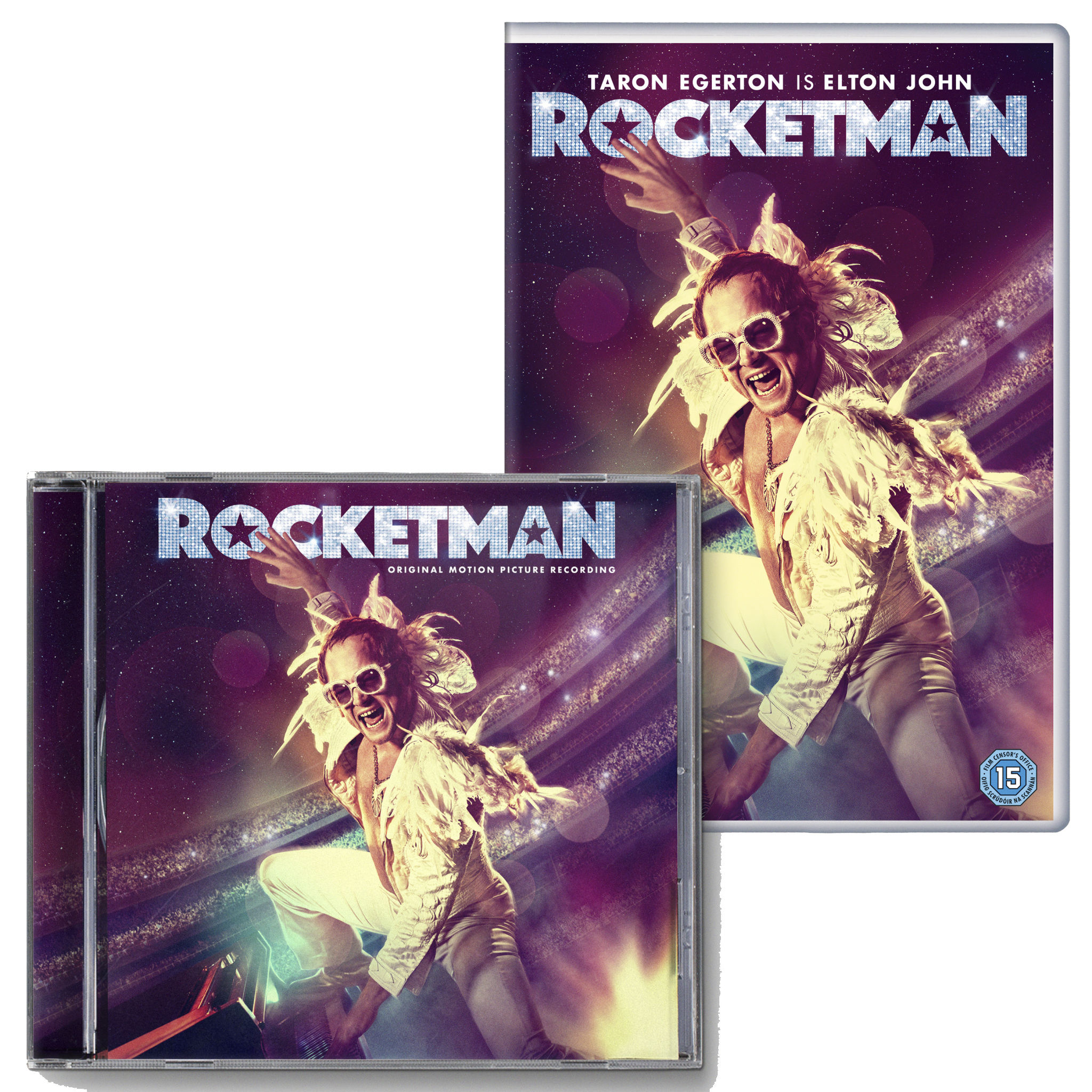 Elton John: Rocketman DVD & CD