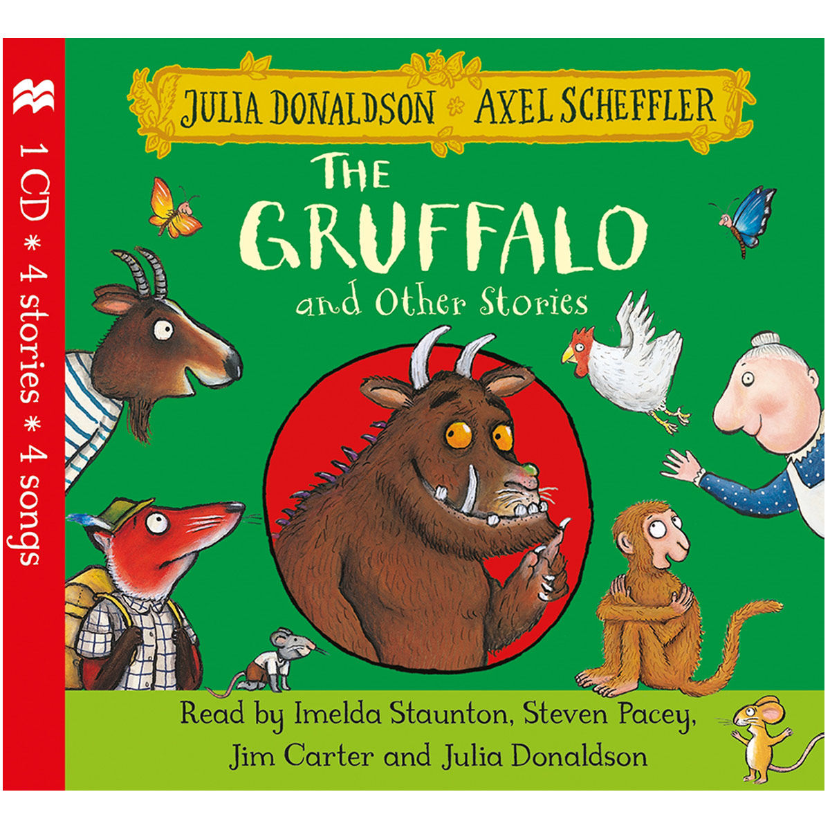 Spoken Julia Donaldson The Gruffalo and Other Stories CD