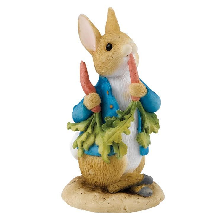 Peter Rabbit Peter Ate Some Radishes - 6.5cm Miniature Figurine