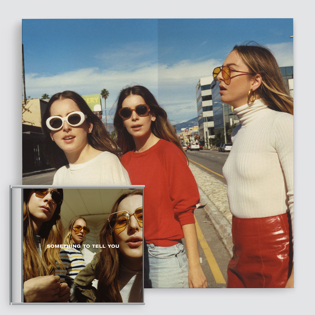 Haim: Something To Tell You CD & Print Bundle