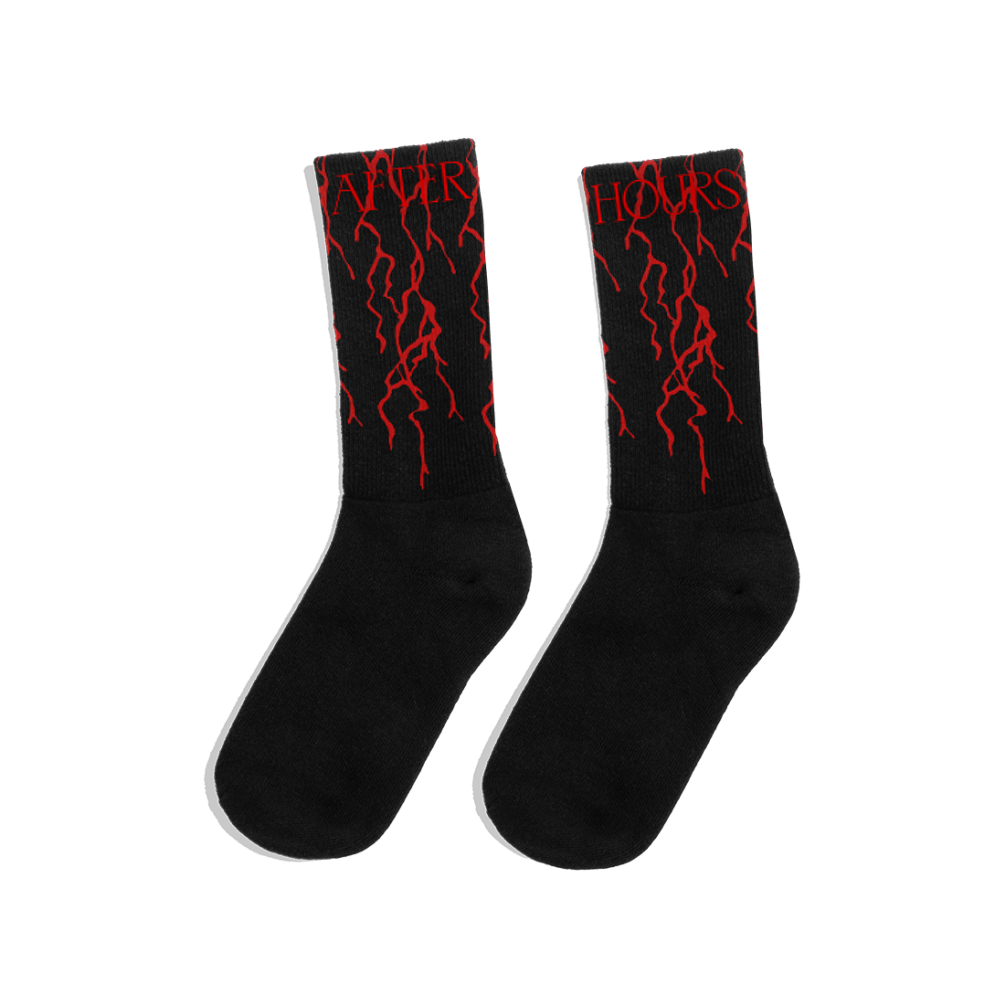 The Weeknd: AFTER HOURS BLOODWORK SOCKS