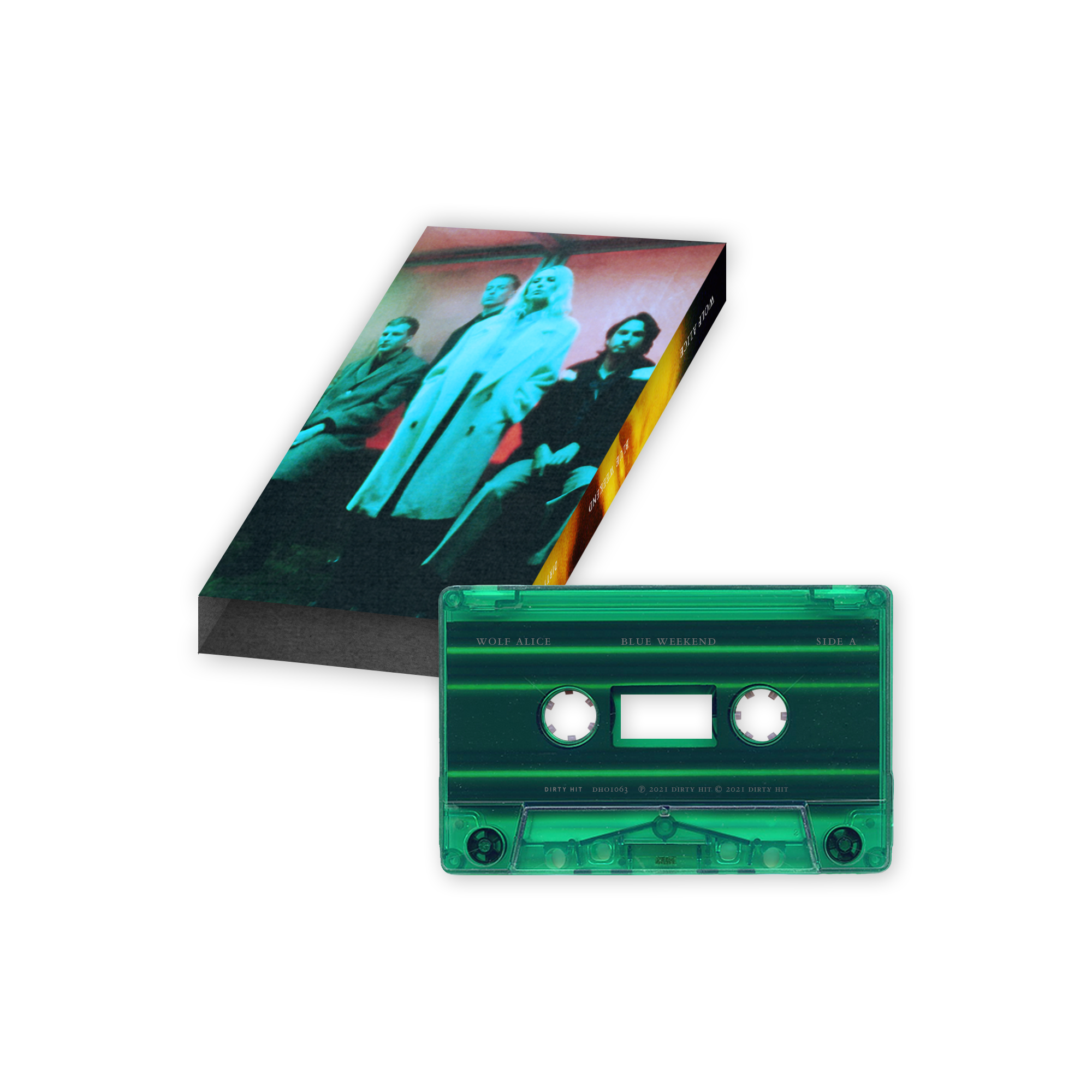 Wolf Alice: Blue Weekend Transparent Green Tape 3