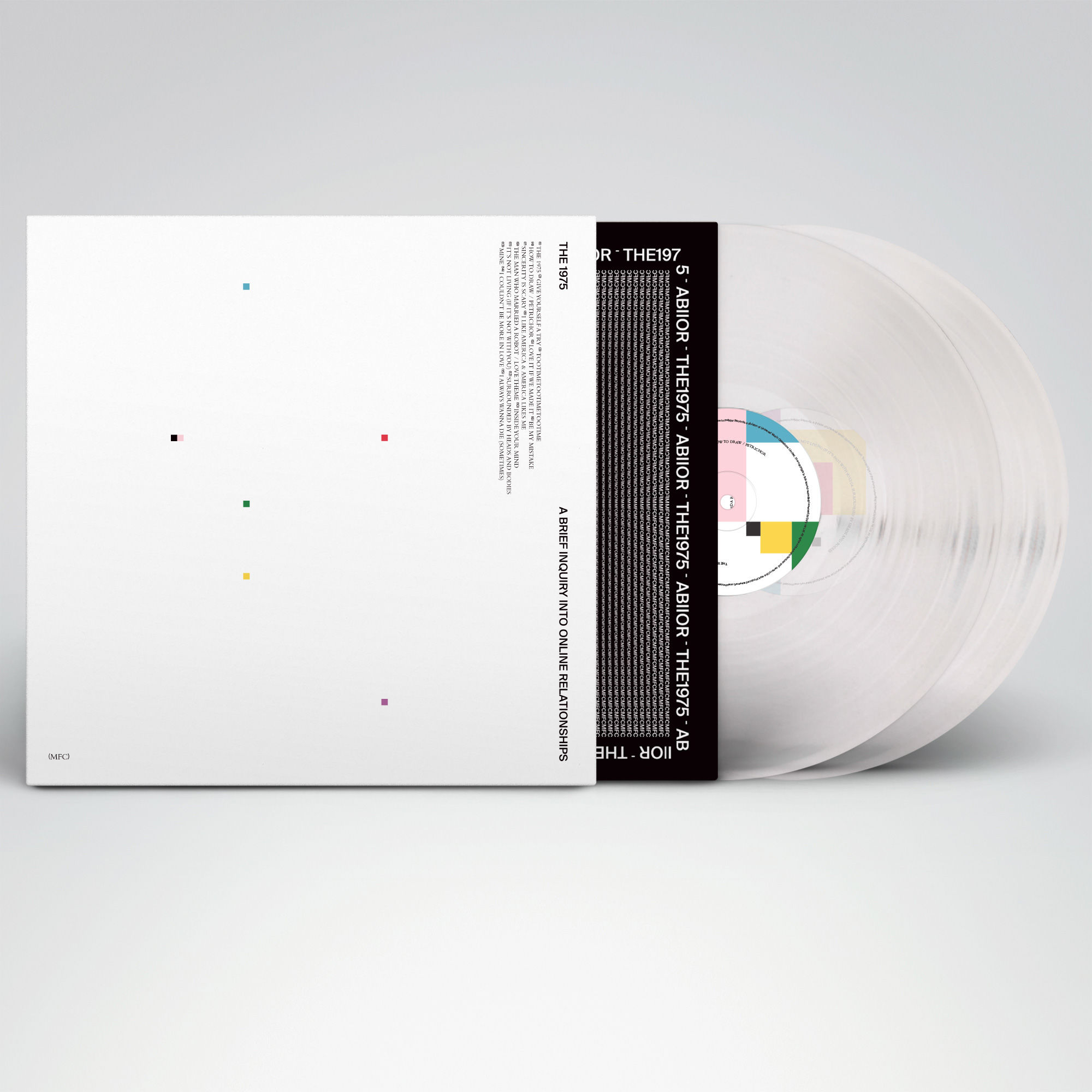 The 1975: A Brief Inquiry Into Online Relationships Vinyl – 180g Double Gatefold Clear Vinyl (Store Exclusive)